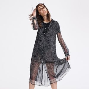 rag & bone Black Multi Libby Dress